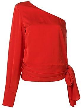 Stella McCartney Mujer 500441SJA066501 Rojo Viscosa Blouse
