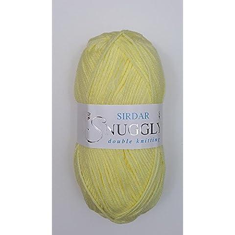Sirdar Snuggly dk doppio lavoro a maglia, 50g Limone (252)
