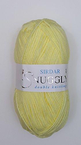 Sirdar Snuggly DK Double Stricken–50g Lemon (252) (Dk Gewicht Garn)