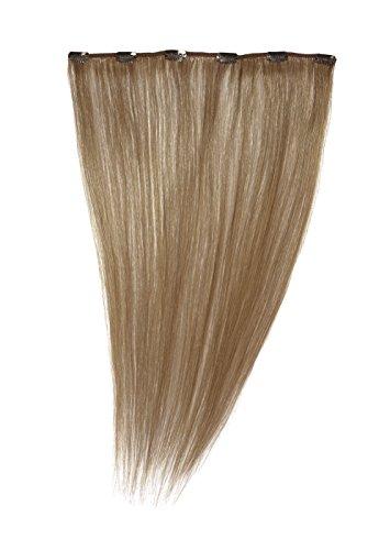 American Dream - A1/QFC12/18/27S - 100 % Cheveux Naturels - Barrette Unique Extensions à Clipper - Couleur 27S - Blond Fraise Léger - 46 cm