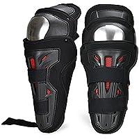 Carreras de Rugby de la motocicleta de la fibra de carbono Off - Equipo del caballero de la rodilla de la rodilla del vehículo de camino