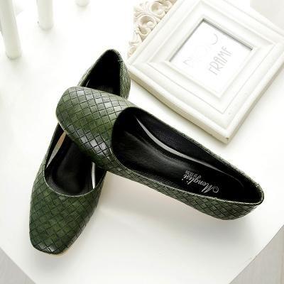 &qq Ladle femmes, plates quatre saisons chaussures, chaussures professionnelles, chaussures à talons bas 38