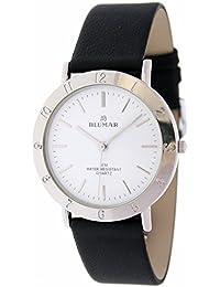 2b72519828f6 Blumar Vx51-sw443g Reloj Analogico para Hombre Caja De Laton Esfera Color  Blanco