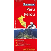 Peru (Michelin Nationalkarte)
