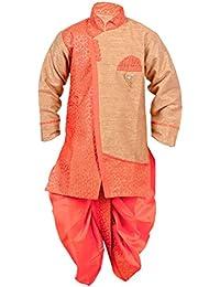 Arshia Fashions Boys Dhoti Kurta set ethnic wear for boys - Blue