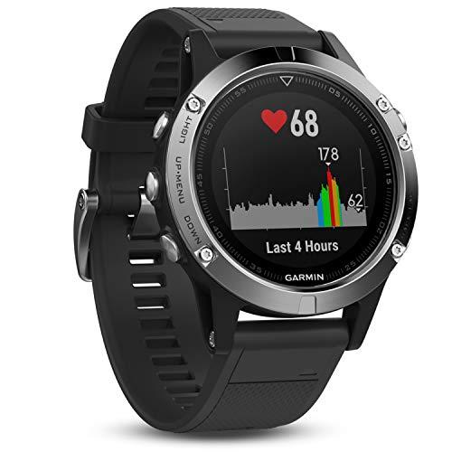Garmin fēnix 5 GPS-Sportuhr - umfangreiche Multisport- & Navigationsfunktionen, robustes & hochwertiges Design