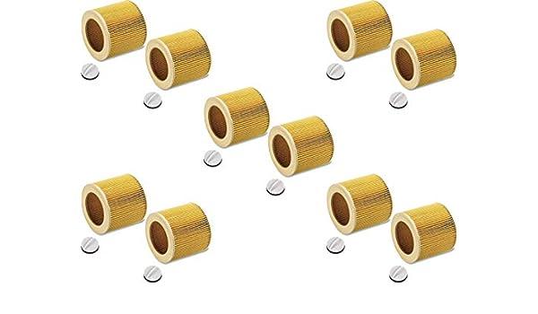 FILTRO RICAMBIO CARTUCCE FILTRI FILTRO CARTUCCIA per Kärcher a 2574 PT 2604 2654 me