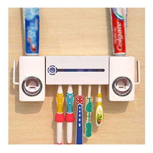 AMYAO Esterilizador Ultravioleta, Cepillo de Dientes Titular Wall Mounted de Dispenser electrónicos...