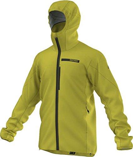 adidas Herren Terrex Agravic Hybrid Softshell Jacke, Unity Lime, 50 Terrex Hybrid
