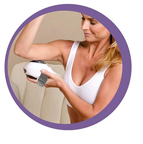 BEST DIRECT Contour Sonic Pro Original aus Dem TV-Werbung Hautstraffendes Cellulite Behandlung Fett reduzierendes Ultraschall-Kavitationsgerät mit 2 Powers Massagefunktion Ergebnisse zu Hause