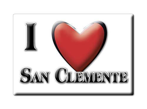 Enjoymagnets SAN Clemente (RN) Souvenir Emilia Romagna Fridge Magnet KÜHLSCHRANK Magnet ICH Liebe I Love