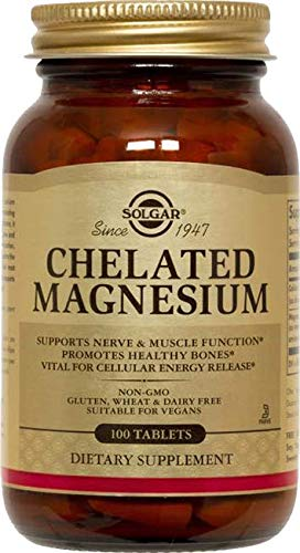 Solgar Magnesium Bisglycinate 100 Comprimés