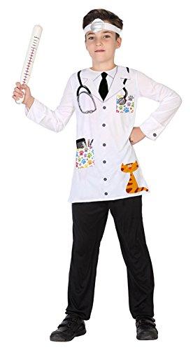 Atosa 39424 Tierarzt Kostüm, 128 cm