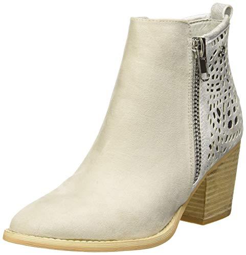 XTI Damen 48928 Kurzschaft Stiefel Weiß Hielo, 38 ()