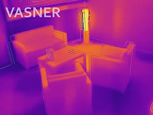 Stand Heizstrahler Infrarotstrahler VASNER StandLine Mini 12 schwarz 1200 Watt kaufen  Bild 1*
