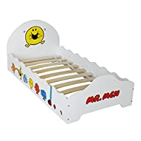 Mr Men - Wooden Junior Bed! Childrens Kids Junior Bed - by Kiddi Style