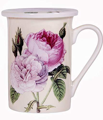 Home Essentials and Beyond Redoubt Rose Teetasse, 284 ml, cremefarben