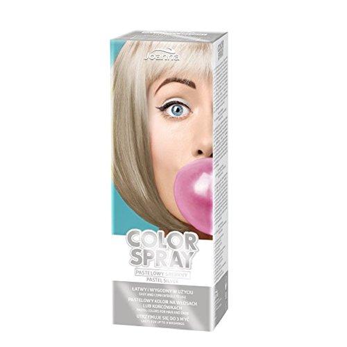 Joanna Color Spray Pastell Silber Spray für Haar und Enden (Spray Silber Haar)