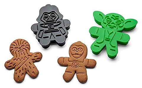 Star Wars Ausstecher Ausstechform für Lebkuchen oder Zucker Cookies–Set von 6 (Cookies For Christmas Cookie Swap)
