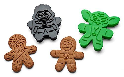 Star Wars Ausstecher Ausstechform für Lebkuchen oder Zucker Cookies–Set von (Beste Für Halloween Cupcakes Rezept)
