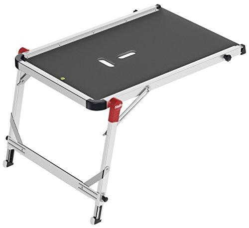 Hailo Treppenpodest TP1, sicherer Stand, flexibel anpassbar, einfacher Transport, extrem belastbar , 9940-001 - 2 Etagen Buch