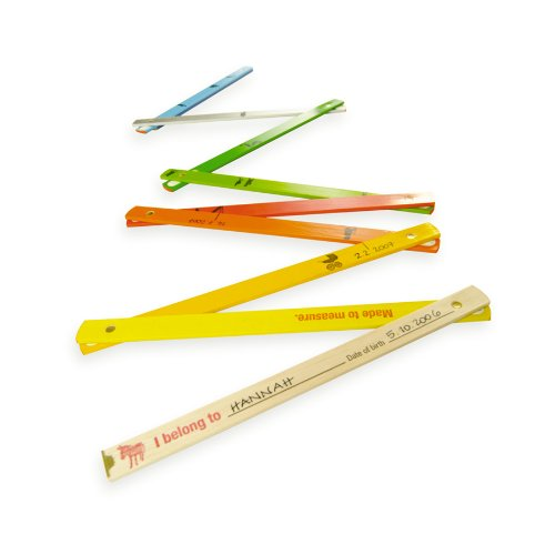 Messlatte Made to Measure. Kindermesslatte: Made to Measure / Zollstock 10 Glieder