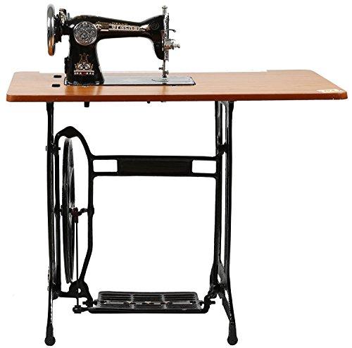 Prema Brather Round Arm Manual Sewing Machine (Black)