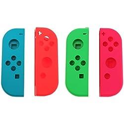 Baoblaze 2 Pz Copertura Frontale Shell Case, Ricambio Accessori Nintendo Switch Controller Joy-Con