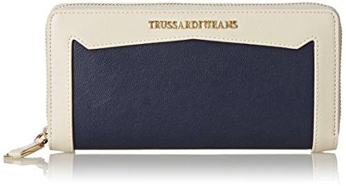 TRUSSARDI JEANS by Trussardi Porte-monnaie, Blu Navy (Bleu) - 75P47149