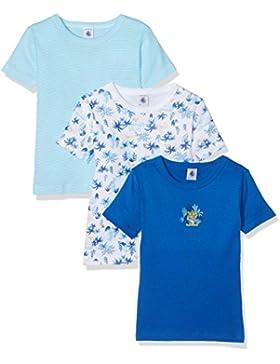 Petit Bateau Jungen Unterhemden 3er Pack