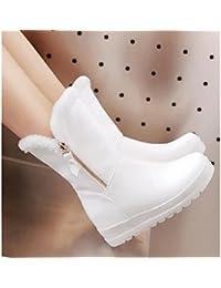 Botas Bo Zapatos Blancas Mujer Wen Amazon Para Zhao Jin es TCUx5nqg