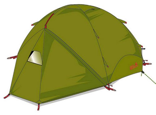 Jack Wolfskin YELLOWSTONE III VENT green tea
