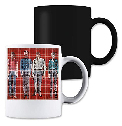 Shut Up More Songs About Buildings & Food Magische Tee-Kaffeetasse - Talking Heads Tee
