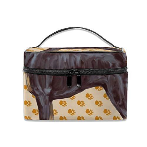 Portable Travel Toiletry Bag Organizer,Pinscher Cosmetic Bags for Women Girl,Makeup Bag, Storage Bag -