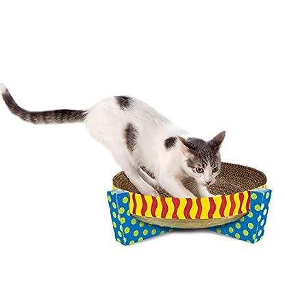 Petstages Scratch, Snuggle & Rest Corrugated Cat Scratcher With Catnip 4