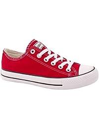 Elara Unisex Sneaker | Bequeme Sportschuhe für Herren und Damen | Low top Turnschuh Textil Schuhe