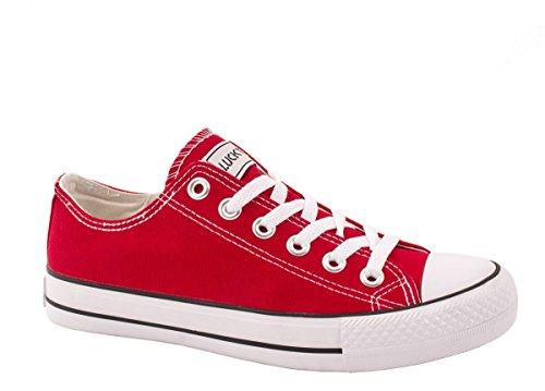 Elara - Sneaker Donna Rosso