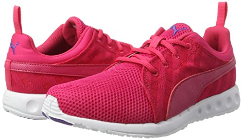 Puma Women s Carson Cross Hatch WN s Running Shoes  Pink  Sparkling Cosmo-Electric Purple 02   4 5 UK
