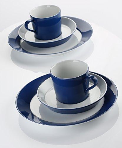 Arzberg 49700-670206-28352 Tric Ocean Kaffeeset 18-TLG, Porzellan, 29,1 x 21,7 x 32,199999999999996...