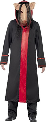 Smiffy's Saw Cochon Adultes Licence Officielle Halloween Film Déguisement Costume M