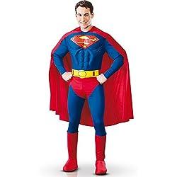 Superman - Disfraz de Superman para hombre, talla UK 38 - 40 (I-888016M)