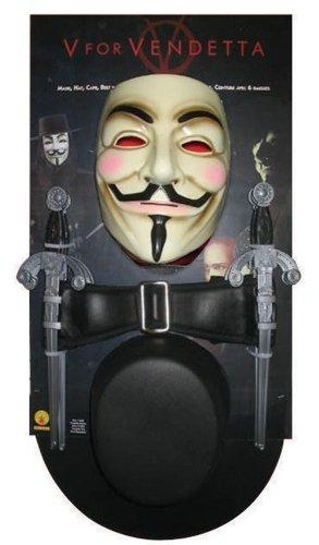 V For Vendetta Kit Men's Costume by Halloween ()