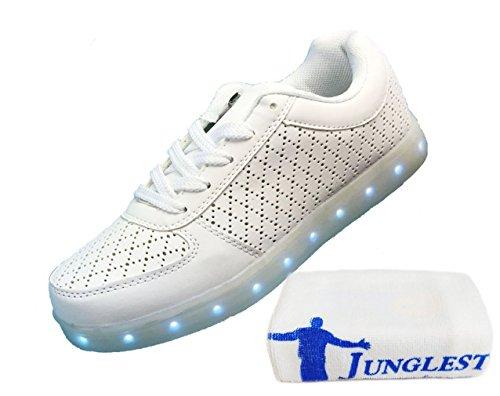 (Présents:petite serviette)JUNGLEST® - Baskets Lumin net hole blanc