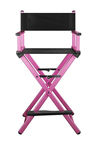 Folding table and chair Outdoor-Aluminium-Stuhl, All-Aluminium-Liegestuhl, Klapp-, Outdoor-, Canvas-Stuhl, Strandkorb, Bar Büro-Make-up-Stuhl, Klappstuhl ( Color : 4 , Size : 58*42.5*110 ) -
