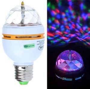 477298 LAMPADA LAMPADINA COLORI RGB LED E27