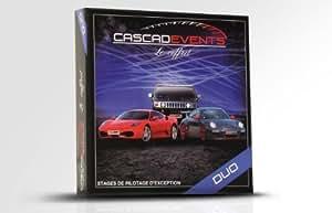 CASCADEVENTS - Coffret Cadeau Pilotage - Duo - Ferrari Porsche