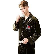 Pijamas de otoño e invierno para hombres El nuevo pantalón de manga larga Ropa para el