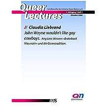 «John Wayne wouldn't like gay cowboys.»: Ang Lees Western Brokeback Mountain und die Genretradition
