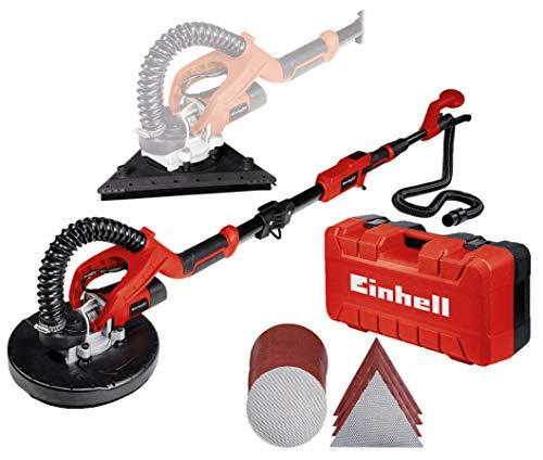 Einhell 4259960 TE- DW 225 X Ponceuse pour cloisons sèches, Rouge Noir