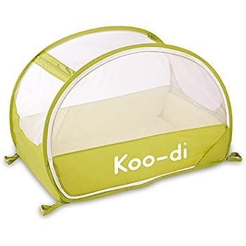 Koo-di 100 x 60 x 58 cm Pop Up Travel Bubble Cot (Lime/ Lemon)  sc 1 st  Amazon UK & Samsonite Pop-Up Travel Cot - colour Café Creme: Amazon.co.uk: Baby